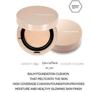 Moonshot face perfection balm cushion 201 refill