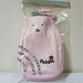 Hot Water Bag - Pink Rabbit 350ml