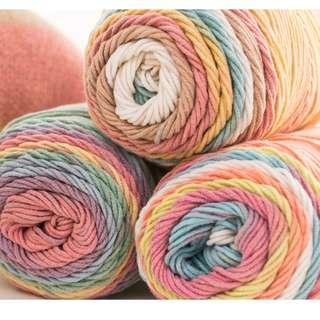 Rainbow Cakes Yarn
