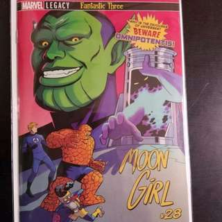 Moon girl 28 HTF 1st Appearance of Omnipotentis, Devourerer of Universes