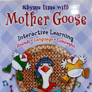 RHYME TIME WITH : MOTHER GOOSE DVD
