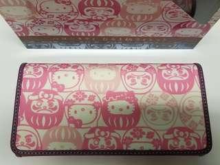 Hello Kitty和風長銀包