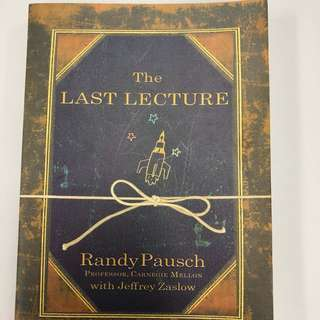 Book: The last Lecture