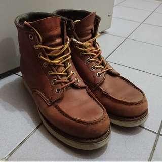 日本牌子 Cedar Crest 男裝方頭Boot (not Red Wing)