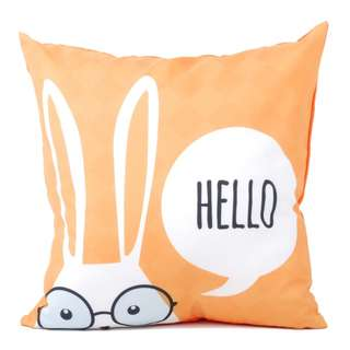 Hello Yellow Cushion - Bantal Sofa - 40 x 40