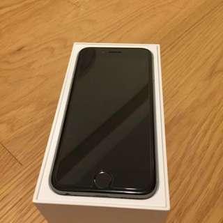 95%新 lightly used Iphone 6 64 gb Space Grey 太空灰