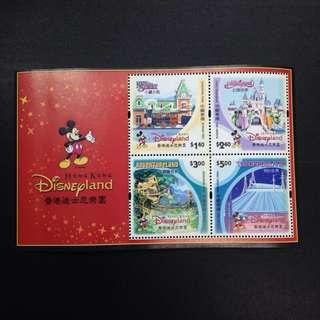 2003年香港迪士尼樂園首張紀念票
