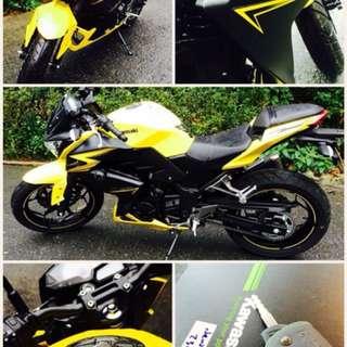 Kawasaki Z300 (里程數僅3526km、車況新、全車鍍膜