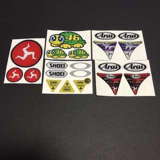 Sticker High Quality Waterproof - Bike Helmet Visor Stickers Decals
