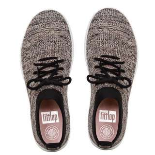 FitFlop ÜBERKNIT™  Slip-On High-Top Sneakers | Black Nude Mix | US Women's Size 5,6,6.5,7,7.5,8,8.5,9,10,11