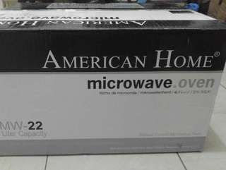 Microwave oven american homes