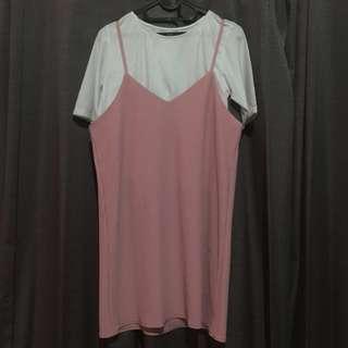 DRESS SET (soft pink)