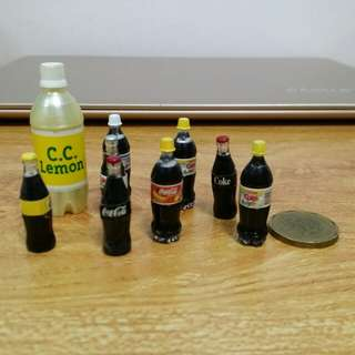 Miniature Coke Drink Collection