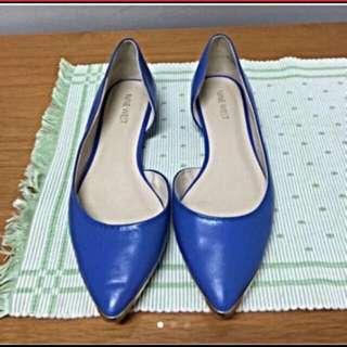 NINE WEST Flat Shoes size 7,5 ( 38)