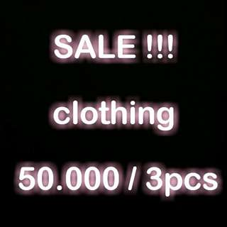 SALE ALL CLOTHING