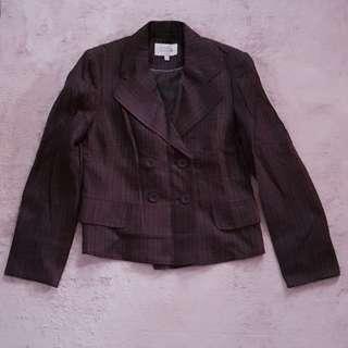 Next Coat / Blazer (Brown, Large)