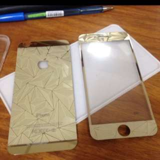 Iphone 5 3d design tempered glass