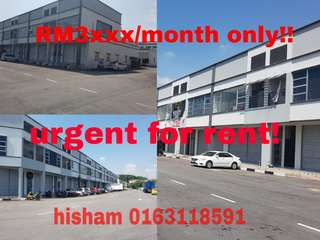 RENT: 1.5 Factory/Warehouse@Kinrara