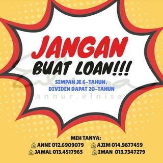 Jangan buat loan!!