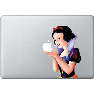 "Snow White Full Color Decal (Skin suitable for MacBook 13"", MacBook Pro 13"", MacBook Air 13"")"