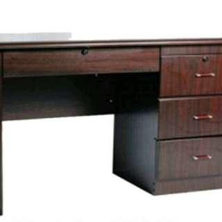 AFS-Freestanding mahogany office furniture