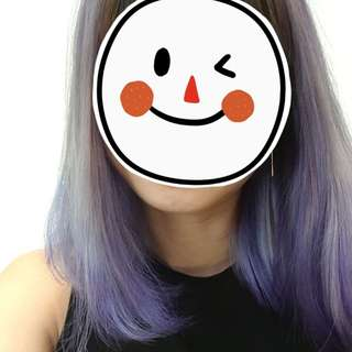 Lavender Ash Blue hair color (DixmondSG)