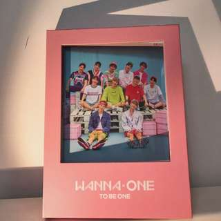 Wanna one - To be one
