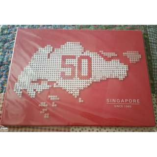 SG50 A5 MyStamp Folder: Celebrating 50 Years of Singapore