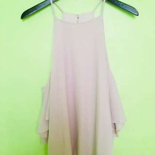 Blush Chiffon Top