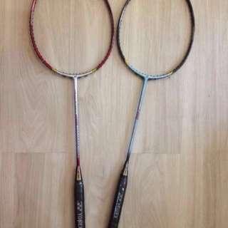 Yonex nanospeed 7000 series badminton rackets