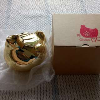 Gloss Golden Hen Coin Bank