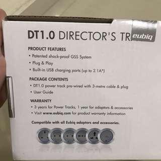 Eubiq Directors Track (BRAND NEW - SEALED) c/w 3 Adaptors.
