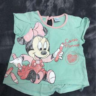 Disney Tops 2 Pieces Girl 6-12 Months