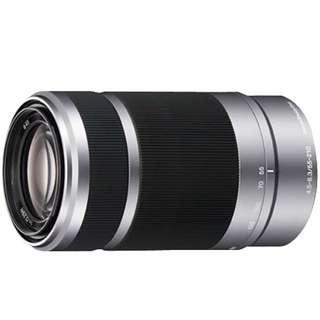 Sony E 55-210mm f/4.5-6.3 OSS Lens (Silver)