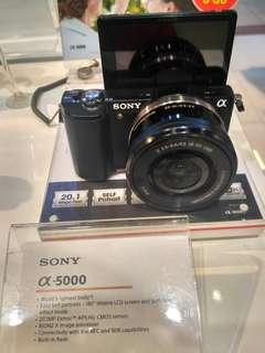 Sony A5000 Kit 16-50mm Resmi Cicilan Tanpa CC