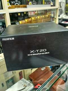 Fujifilm XT20 Kit 16-50mm Kredit Kamera Proses Cepat