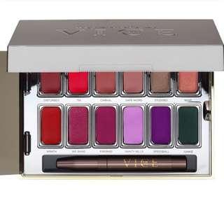 Urban Decay Lipstick Palette