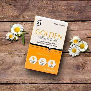 Golden Herbs Soap By Sendayu Tinggi 🌺Readystock🌺