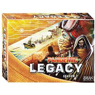 Pandemic Legacy - Season 2 YELLOW