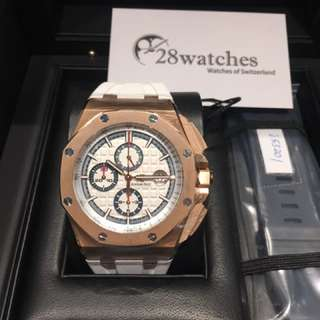 全新 Audemars Piguet 愛彼 Royal Oak Offshore Chronograph