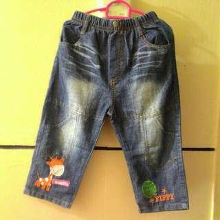 Fiffy long pants denim jeans