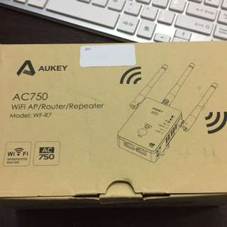 Aukey Wifi AP/Router/Repeater AC750