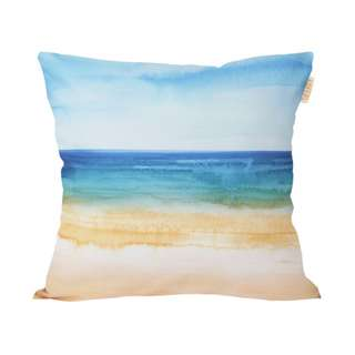 Beach Paradise Cushion - Bantal Sofa - 40 x 40