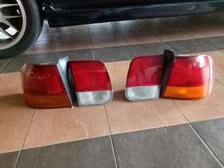 Lampu depan dan belakang honda civic ek3 1996