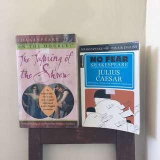 BUNDLE: Shakespeare Translation Books