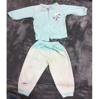 Fiffy Top + Pants 6-12 Months