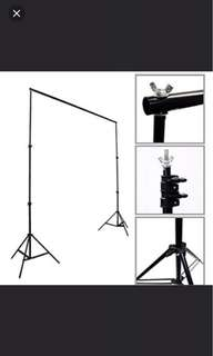 Backdrop stand 3m by 3m