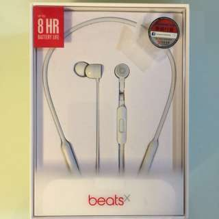 全新未拆Beats beatsX wireless earphones白色