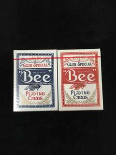 Casino Bumble Bees Playing Cards