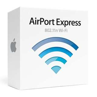 Apple Airports Express (Old ver. UK plug)